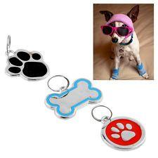 Erkennungsmarke Hundemarke Katzen Hunde Hundemarken Gravur ID Pet Tags 3 Stilen