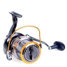 Carrete de pesca mar metal rueda de pescado de agua salada LJ9000 Seaknight 4.1: 1 super 13bb