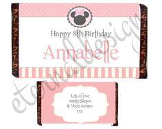 Kids Birthday Chocolate Bar Wrapper KBCB 009