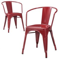 Carlisle Metal Dining Chair (Set of 2) : Target