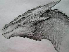 Dragon Sketch by TatianaMakeeva.deviantart.com on @DeviantArt