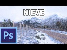 Cómo hacer que nieve en una fotografia - Tutorial Photoshop en Español por @Prisma Tutoriales (HD) - YouTube