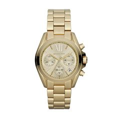 b9ead7a0eb9 Michael Kors Mid-Size Golden Stainless Steel Bradshaw Chronograph Watch  MK5798 Canada online at SHOP