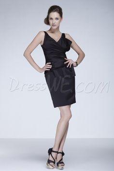 Dresswe.com SUPPLIES Gorgeous Pleats A-Line Floor-length V-Back Ela's Bridesmaid Dress 2013 Bridesmaid Dresses
