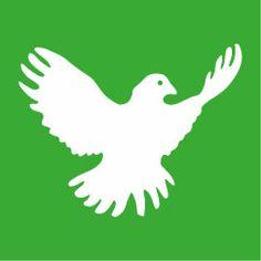 Friedenstaube der Friedensbewegung