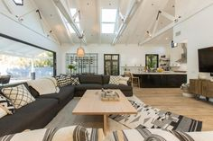 Christina & Ant Anstead's New Home | Christina on the Coast | HGTV Art Deco Bedroom, White Countertops, Modern Farmhouse Style, Loft Spaces, Home Pictures, Awesome Bedrooms, Tile Design, Hgtv, New Homes