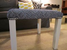 Upholstered Hack-a-Lack With Nailhead Trim - IKEA Hackers - IKEA Hackers