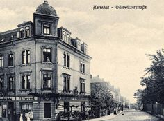 The first shop in Herrnhut/Germany.