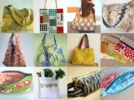 12 free bag and purse tutorials and patterns..these are great!