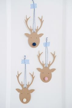 Deer Tag Christmas Cards — Yvestown