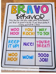Love this as a positive group behavior tracker. This would be great in a science class with many different lab groups. It gives the students something to work for and keeps things positive in the classroom.
