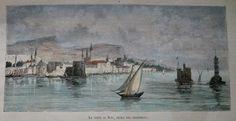 GREECE CHIOS HIOS SCIO  PRINT 1881