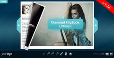 Diamond FlipBook - jQuery