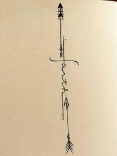 Resultado de imagem para catalogo de tatuagens de flechas