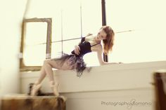 Beautiful woman while en pointe and I love the Lensbaby mystique. #boudoir #ballerina #lifebehindmylens