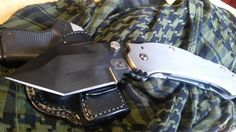 A new #GrindhouseKnives DSK XL folding broad sword also coming #wintercamping with us for field trails.