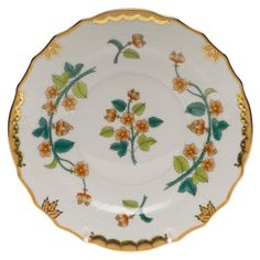 Herend - Livia / Windsor Salad Plate - Hand painted and hand made since 1826. Available at: http://shop.herend.ca/323-l...