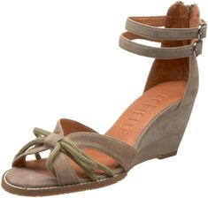 Sachelle Womens Rita Wedge SandalTaupe9 M US >>> Continue to the product at the image link.