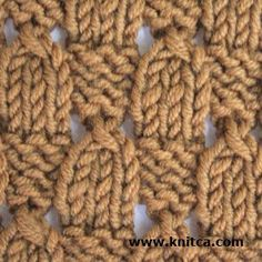 Great simple stitch that looks good on both sides. Chart too on this excellent Canadian site..