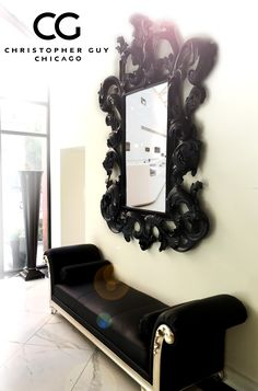 Delightful Floor Sample Sale. Ends 12/15. This Christopher Guy Mirror And Seating Is ·  Christopher GuyLuxury FurnitureShowroomChris Du0027eliaChicagoMirrors