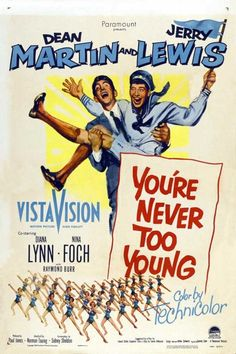 Jerry Lewis/Dean Martin-You're Never Too Young