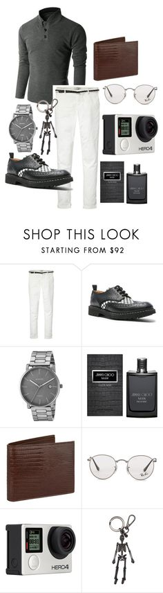 """""""Class"""" by aneleineclare ❤ liked on Polyvore featuring Doublju, Maison Scotch, Givenchy, Skagen, Jimmy Choo, Tom Ford, Ray-Ban, Billabong, Alexander McQueen and men's fashion"""