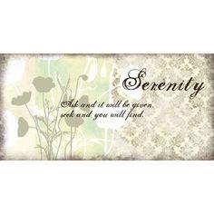 Serenity & Wisdom, Set of 2
