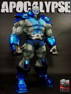 Apocalypse Custom Action Figure by Leech Base figure: Kilowog