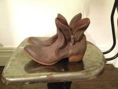 Pantanetti Ankle Zip Boots