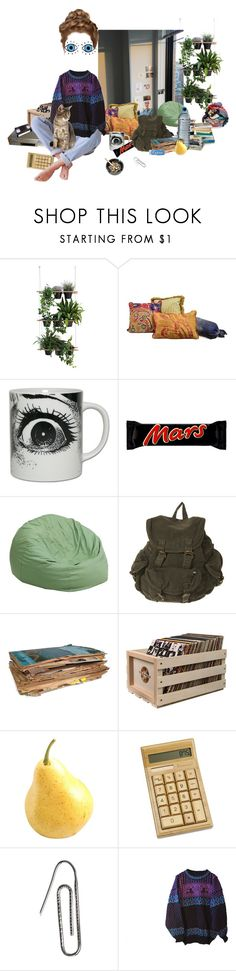 """""""sick day"""" by wasteyrselfff ❤ liked on Polyvore featuring Compagnie, Riegel, Flash Furniture, Dirty Laundry, Crosley, Carrie K. and Dale of Norway"""