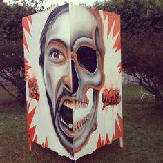 #leo_dco #dco #dcocrew #grafite #graffiti #graffitisp #graffitiart #grapixo #graffitibrasil #sampagraffiti #art #arteurbana #urbanart #lovegraffiti #londongraffiti #streetart #streetisart #streetgraffiti #livepaint #tattoofest #2face #skull #instagrafite