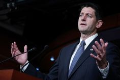 """Facing criticism for responding to yet another mass shooting with """"prayers"""" but no action, House Speaker Paul Ryan apparently decided to give Donald Trump a run for his money in thethe say-a-stupid-thing-about-guns sweepstakes:      When asked about..."""