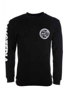 Blood Brother - Zero Crew Sweatshirt Black