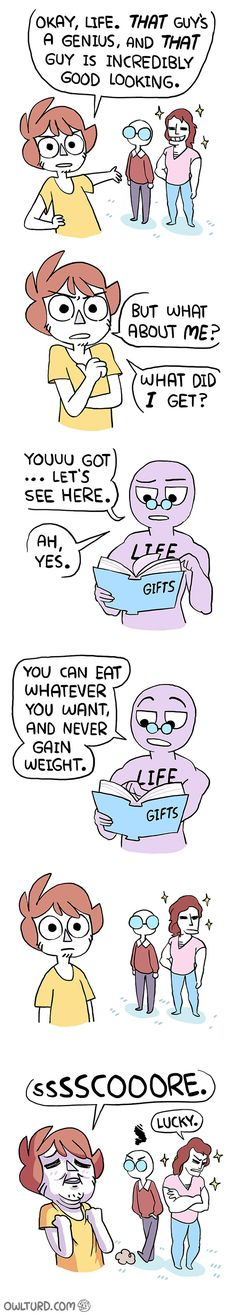 62 Hilariously Accurate Comics About Adulthood And Life By Owlturd Life's Gifts Wtf Funny, Funny Cute, Funny Memes, Hilarious, Jokes, Memes Humour, Cute Comics, Funny Comics, Owlturd Comix