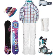 Hit the Slopes, created by heather-rolin on Polyvore