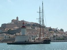 Image result for ibiza port large sailing ship