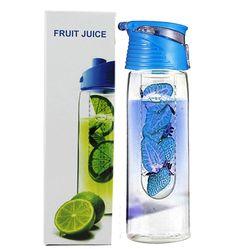 Amazon.com : Bestwoohome Plastic Fruit Infuser Water Bottle Potable Travel Cup…