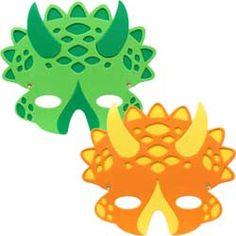Dino Masks...how do dinosaurs say goodnight?