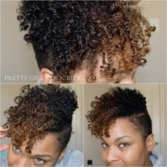 New Hair Natural Cut Shaved Sides 52 Ideas Shaved Side Hairstyles, Twist Hairstyles, Cool Hairstyles, Black Hairstyles, Kinky Curly Hair, Curly Hair Styles, Natural Hair Styles, Curly Undercut, Afro Hair