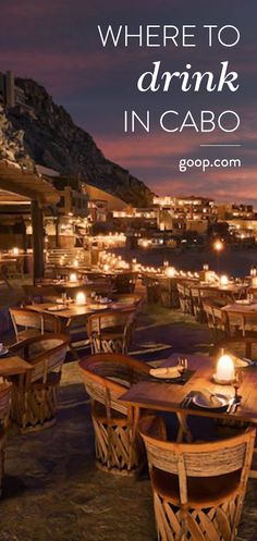 The best bars in Los Cabos, Mexico to grab a cocktail. Mexico Vacation, Cruise Vacation, Mexico Travel, Italy Vacation, Disney Cruise, Vacation Destinations, San Jose Del Cabo, Cabo San Lucas Mexico, Reserva Natural