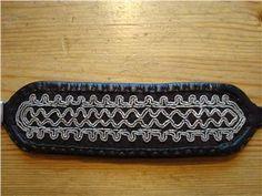 Äldre, Armband, Sameslöjd, Tenntråd, Etnisk