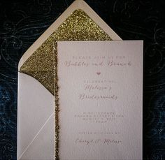 Rustic Glam Party Invitations