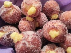 Frittelle con crema (ricetta L. Montersino)
