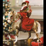 Beautiful Christmas Breyer  2004 #Breyer #Father #Christmas #horse #Retired