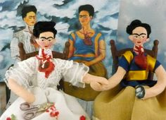 Frida art dolls