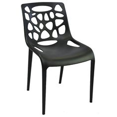 Stackable commercial grade chair, usitable for indoor and outdoor use. Available in white, black, red and greed. Next Dining Chairs, Outdoor Dining Chairs, New Deck, Stackable Chairs, Street Furniture, Indoor, Black, Greed, Virtual Reality