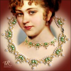 Free pattern for amazing Renaissance necklace.