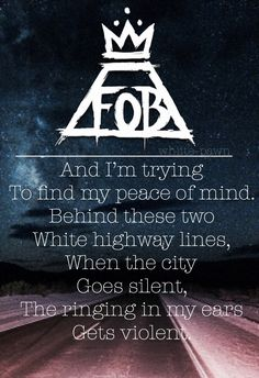 Jet Pack Blues// Fall Out Boy