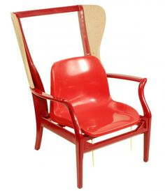 the double red chair, pinned by Ton van der Veer