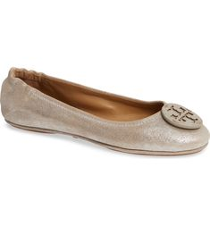 8b43da5a8c6 Free shipping and returns on Tory Burch Minnie Travel Ballet Flat (Women)  at Nordstrom